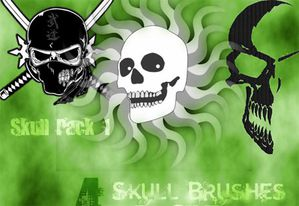 b-skull brushes for gimp