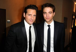 Peter Facinelli & Robert Pattinson - After Party Golden Glo