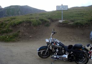Harley Davidson Softail Heritage Col d'Allos