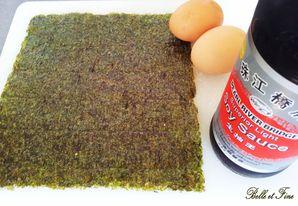 Omelette roulée à la japonaise1