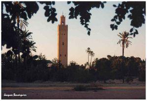 Maroc Marrakech koutoubia