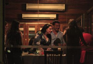 stephenie meyer dining with fans 1