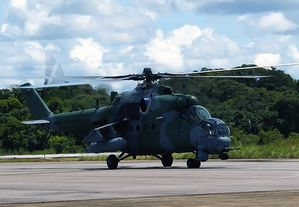 A Mi-35M of the Brazilian Armed Forces