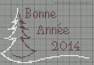 bonne annee 2014 -1 version grise