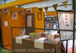 stand stampin up creativa acceuil 2010