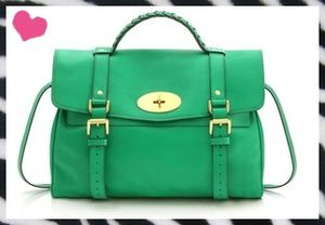 green Mulberry satchel