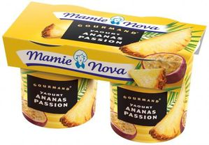 Lot-de-2-pots-150g-GOURMAND-YAOURT-ANANAS-PASSION product