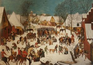 le Massacre des Innocents-Bruegel