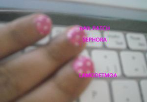 NAIL PATCH A POIS