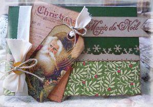 Carte Noël Délia
