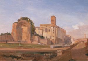 Temple-of-Venus-and-Rome--Rome-1840Details-Edward-Lear.jpg