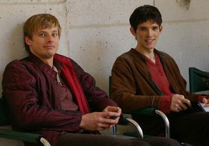 bradley james & colin morgan plateau