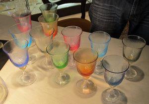 verre murano colore