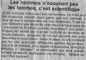 article anglais