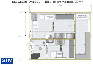 Module fromagerie