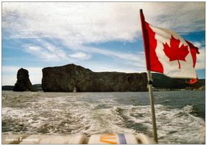 canada le rocher perce