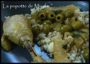 Tajine poulet citron olives 2