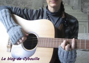 Mitaines et guitare