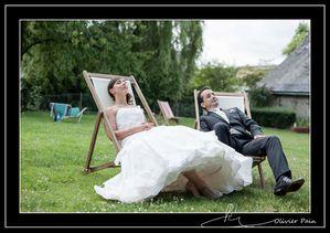 Reportage mariage par Olivier Pain reporter photographe basé sur Tours