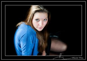 Photographies de portrait en studio, en Low-Key par Olivier Pain reporter photographe basé sur Tours