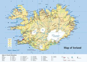 025 carte d'islande