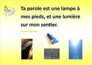 Ta Parole - Psaume119-105