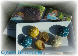 Cupcakes tea time style 3