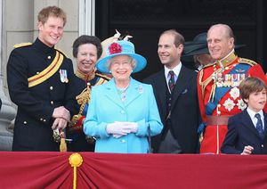 Trooping the Colour balcony