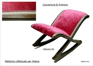 Repose pieds basculant couverture & finitions