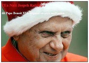 Ex-Nazi Jospeh Ratzinger Pape Benoit XVI N.O.M