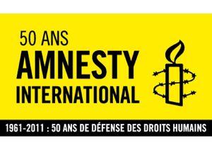 logo amnesty 50 ans