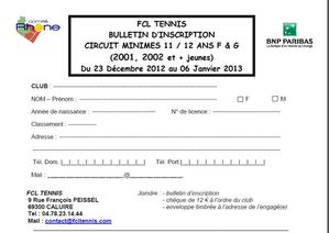 Inscriptions Caluire