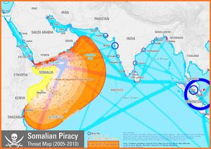 Somalian Piracy Threat source oil-electric.com