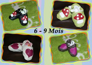 Chaussons 6-9mois