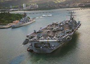 """Die USS """"Carl Vinson"""" (Archivbild) ist auf dem Weg nach Haiti"""