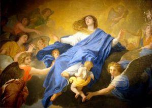 Assomption de la Vierge, Le Brun