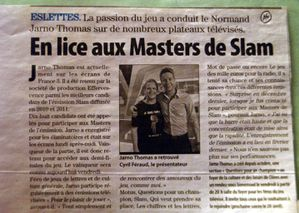article Paris-Normandie du 13 avril 2012