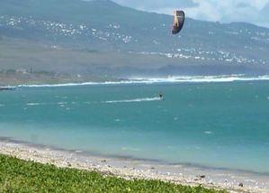 kitesurf à la Saline