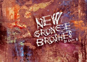 b-new grunge brushes