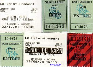 Saint Lambert 1 Tickets
