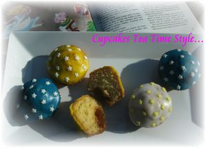Cupcakes tea time style 4
