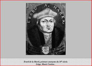 Portrait Erard de la Marck