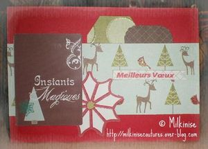 Carte Noël sketch Inès (Milkinise) 2