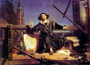 Jan Matejko-Astronomer Copernicus-Conversation with God 187