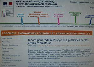 022 r ECRAN site Ministère pr Pesticides jardiniers amateu