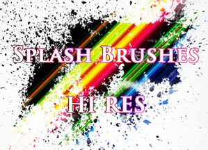 b-ps splatter brushes