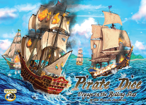 Pirate Dice-Voyage on the Rolling Seas-boite jeu