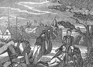 Death of General Pike at the Battle of York