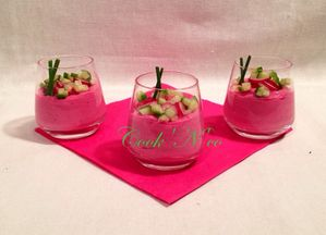 Mousse de betterave
