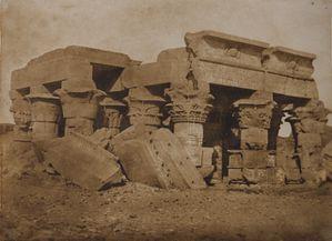 Maxime du Camp, temple de Komumboo